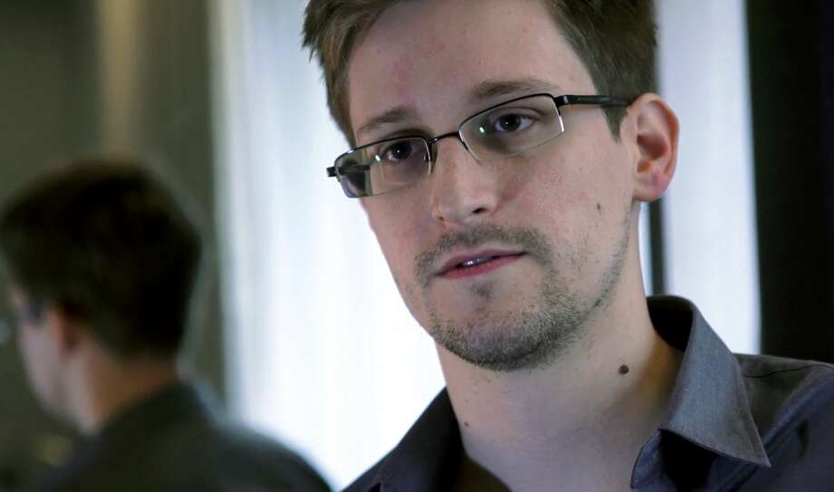 This photo provided by The Guardian Newspaper in London shows Edward Snowden, who worked as a contract employee at the National Security Agency, on June 9, 2013, in Hong Kong. Photo: AP Photo/The Guardian  / The Guardian