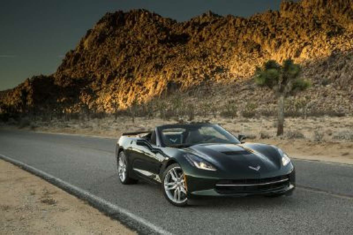 The 2014 Chevrolet Corvette Stingray convertible. The 2015 model will have cameras that can record drives, and share the footage on the Internet.