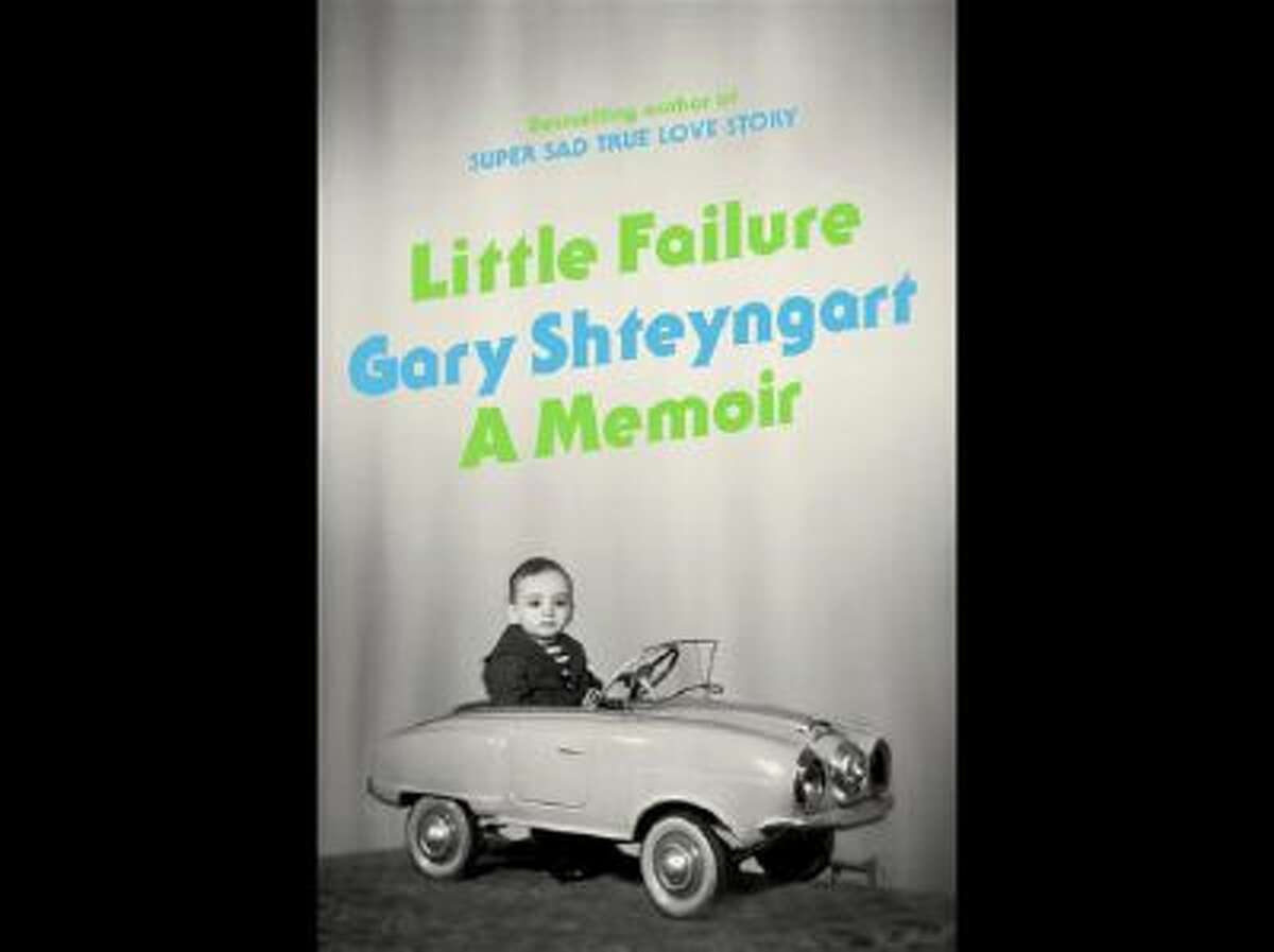 """This book cover image provided by Random House shows """"Little Failure,"""" a memoir by Gary Shteyngart. In the book, Russian-American novelist Shteyngart offers a funny, honest memoir of an immigrant success story."""