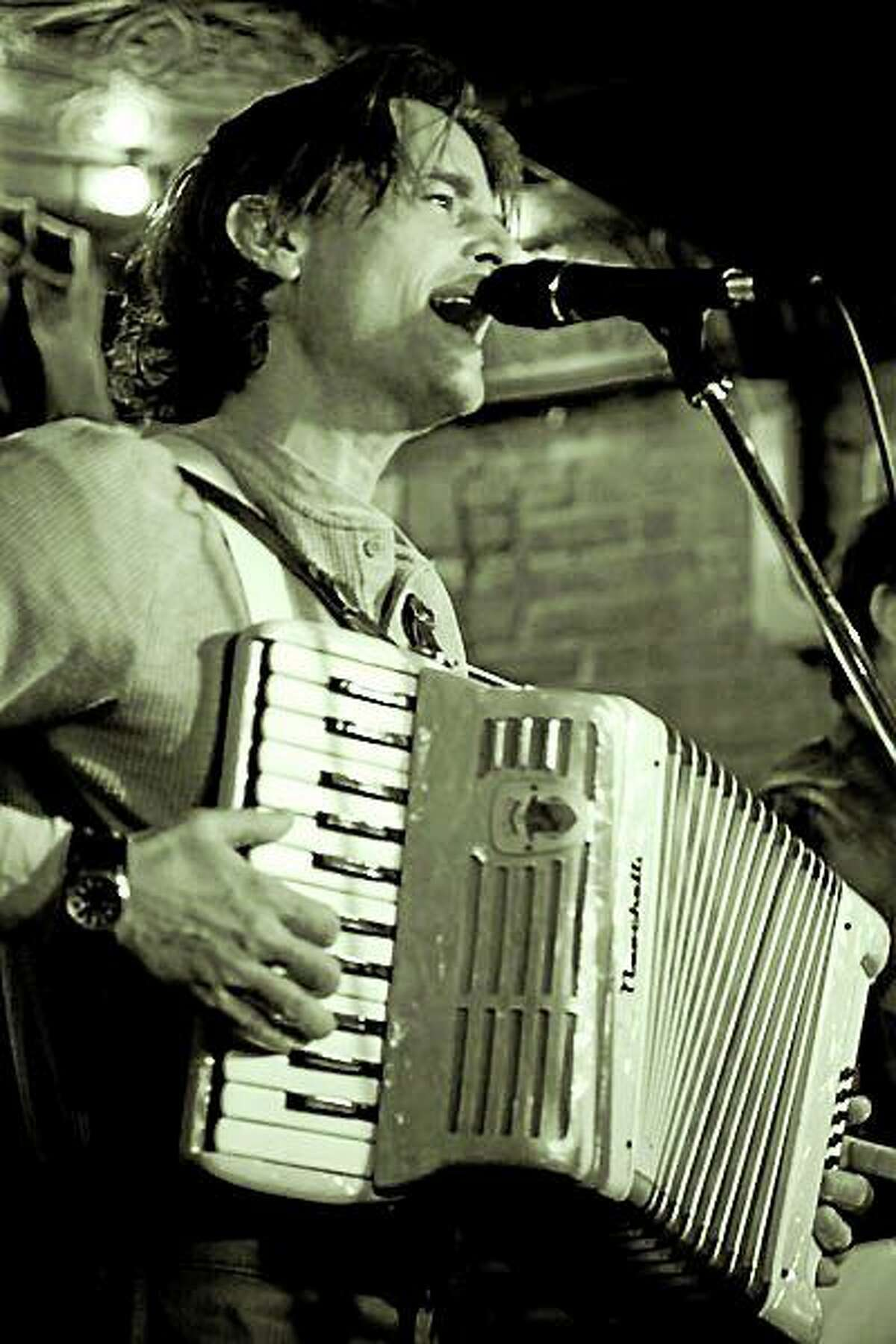 Submitted photo Accordion master D.B Reilly performs at the Lieff Nilsson studio and gallery in November