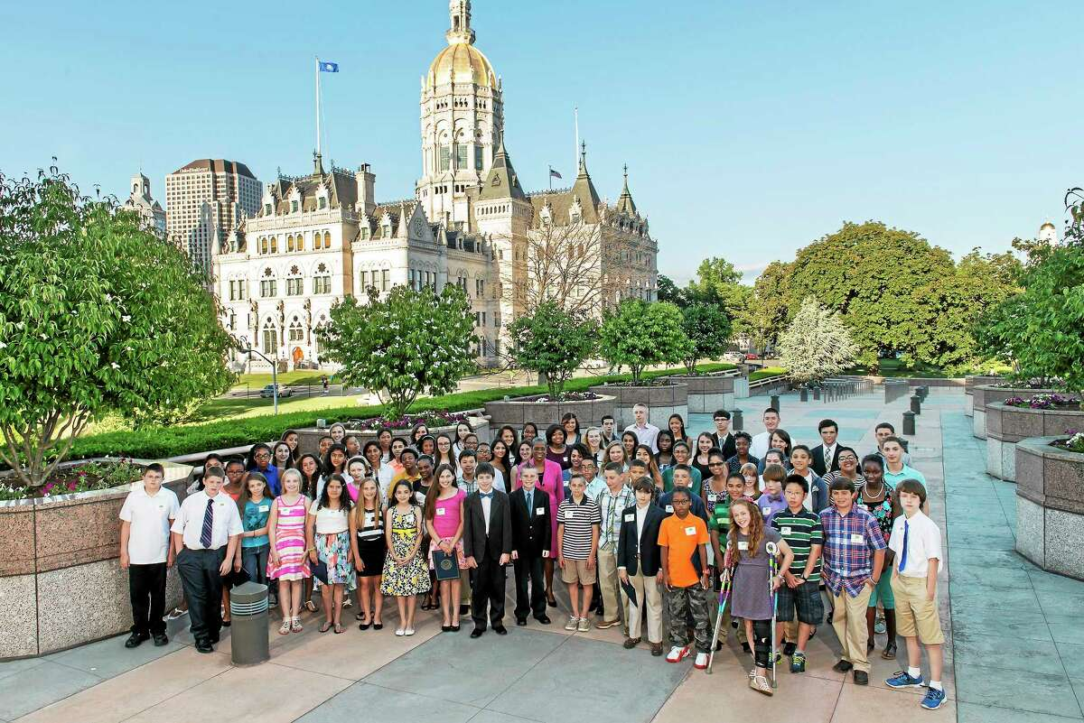 Submitted photo 6th and 11th grade students from Fairfield, Hartford, Litchfield, Middlesex, New Haven, New London, Tolland, and Windham county were recently awarded the 2014 CHET Advance Scholarship.