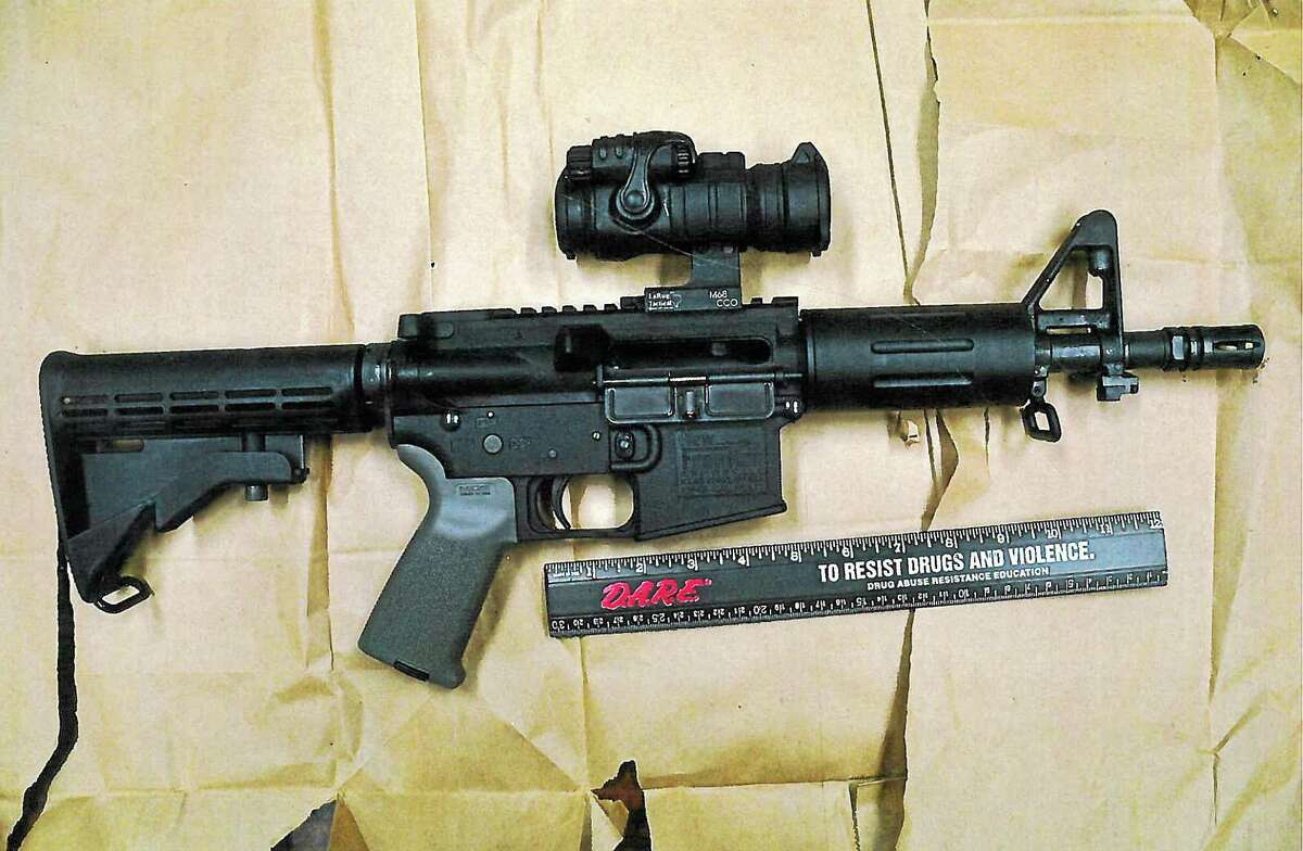 This LW-15 was modified to have a nine-inch barrel, making it legally a pistol.