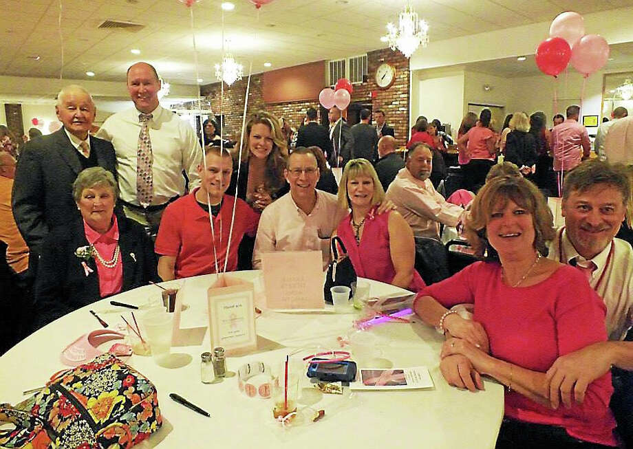 The Middletown Elks are hosting the Get Your Pink On dinner/dance to raise money for breast cancer research on Wednesday night. Photo: Journal Register Co.