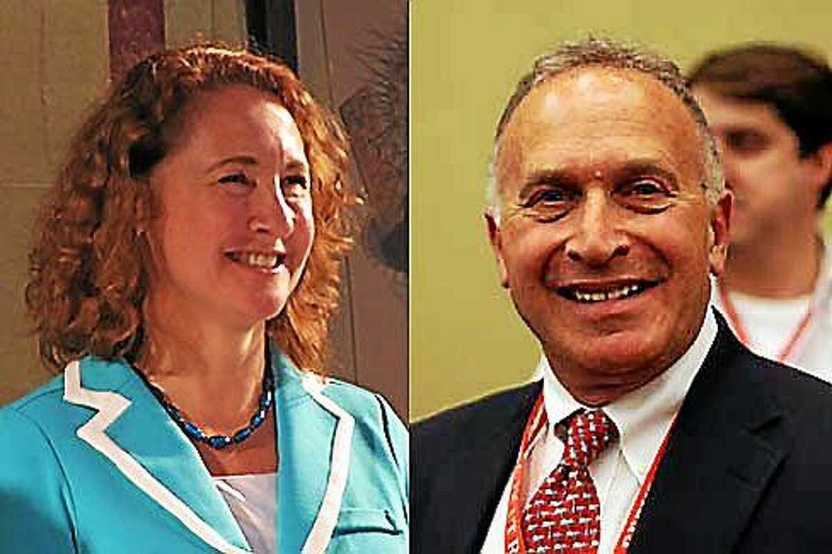 U.S. Rep. Elizabeth Esty and Republican Mark Greenberg. CT News Junkie file photos