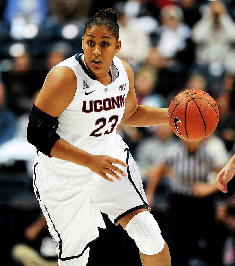 UConn's Kaleena Mosqueda-Lewis finished with 21 points against Memphis Saturday. Photo: Jessica Hills — The Associated Press FILE PHOTO  / AP2013