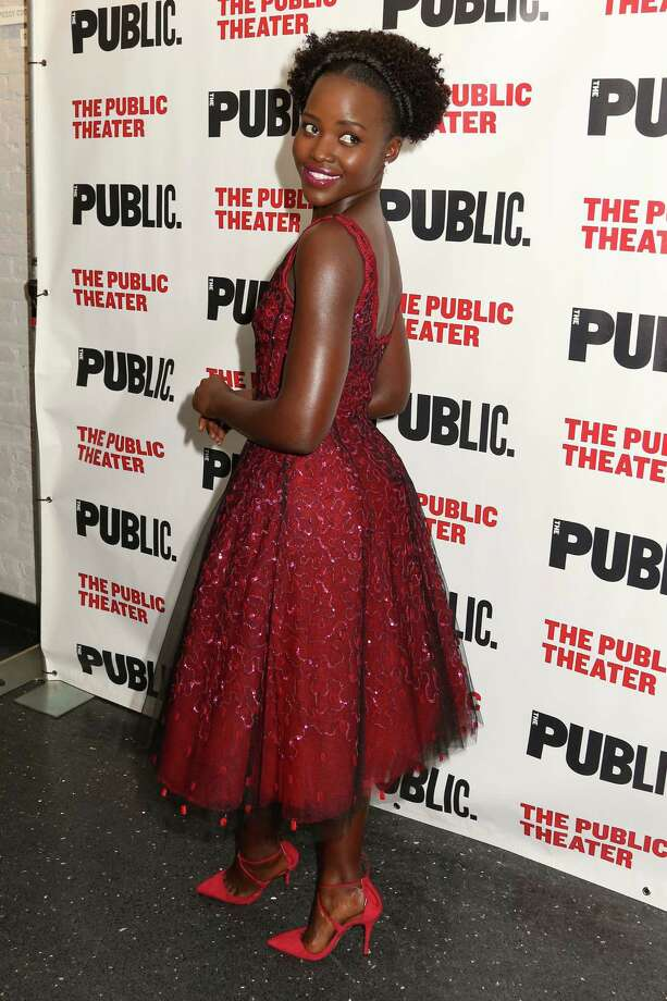"""Lupita Nyong'o attends the opening night celebration of """"Eclipsed"""" at The Public Theater on Oct. 14, 2015 in New York. Photo: Photo By Greg Allen/Invision/AP  / Invision"""