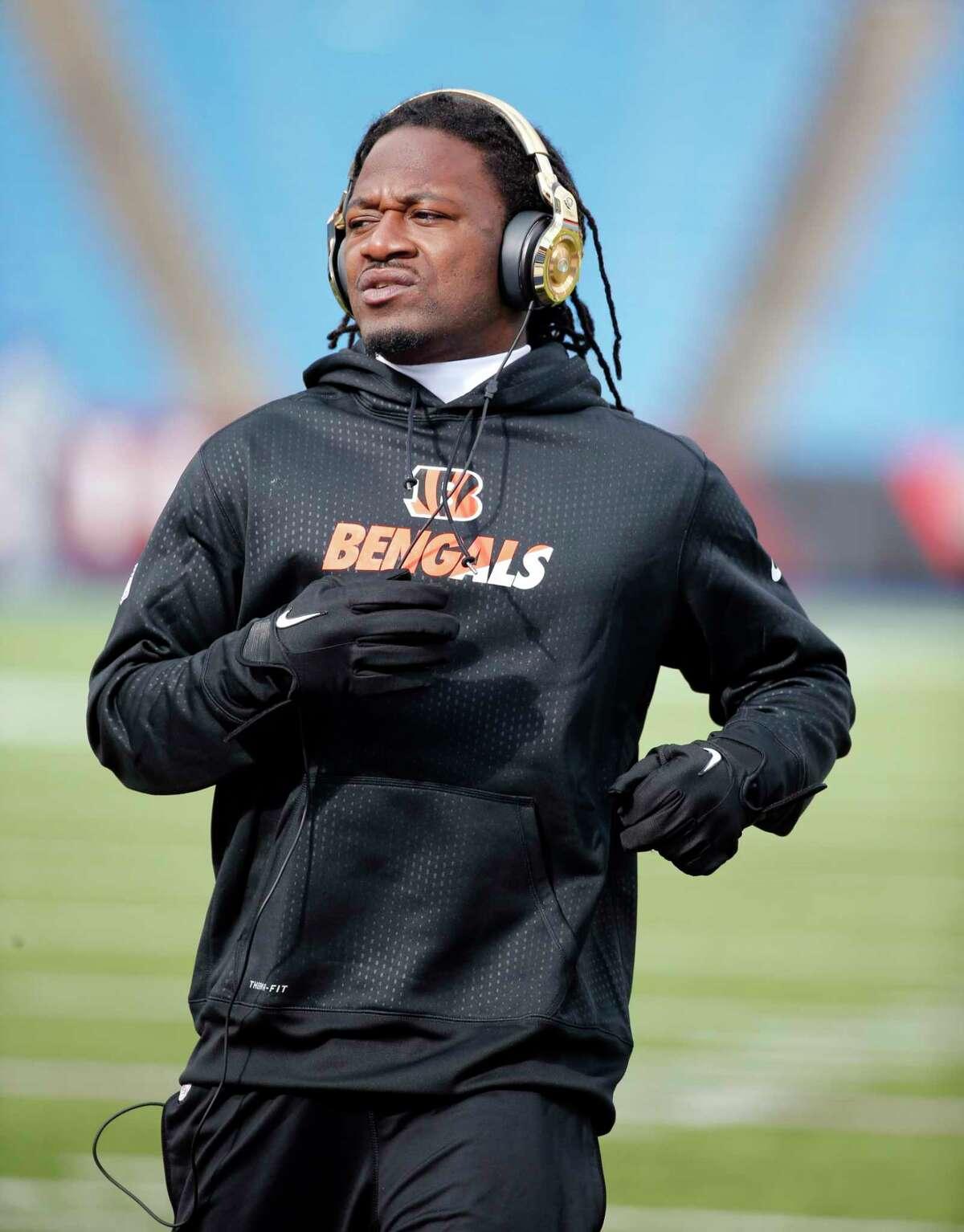 Cincinnati Bengals cornerback Adam Jones.