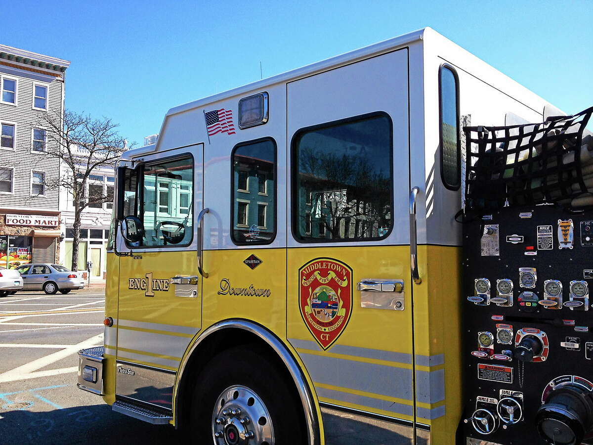 Middletown Fire Department's Engine 1.