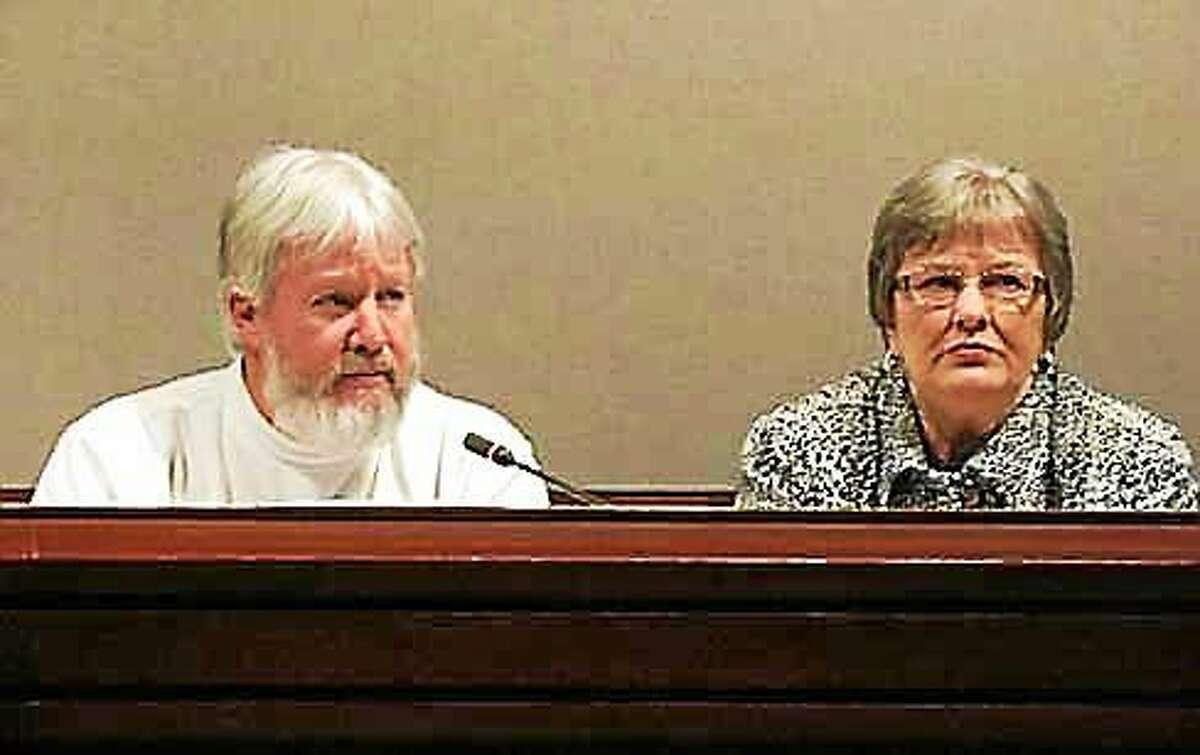 State Reps. Craig Miner and Linda Orange