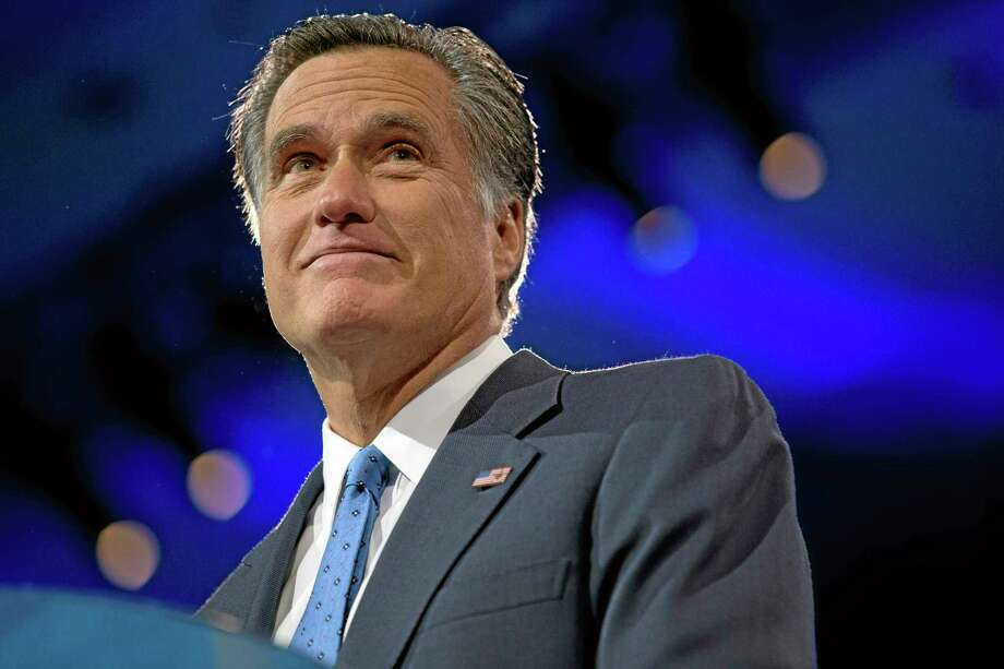 This March 15, 2013 file photo shows former Massachusetts Gov., and 2012 Republican presidential candidate, Mitt Romney at the 40th annual Conservative Political Action Conference in National Harbor, Md. AP Photo Photo: AP / AP
