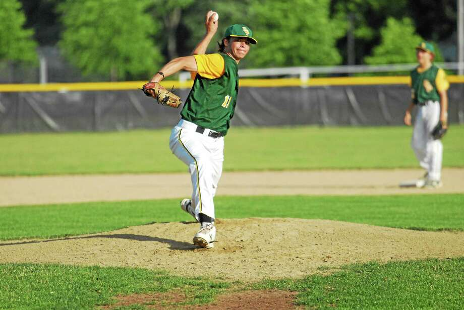 RCP lefthander Logan Lessard leads a deep pitching staff that has allowed no runs in six consecutive games. Photo: Jimmy Zanor — Middletown Press