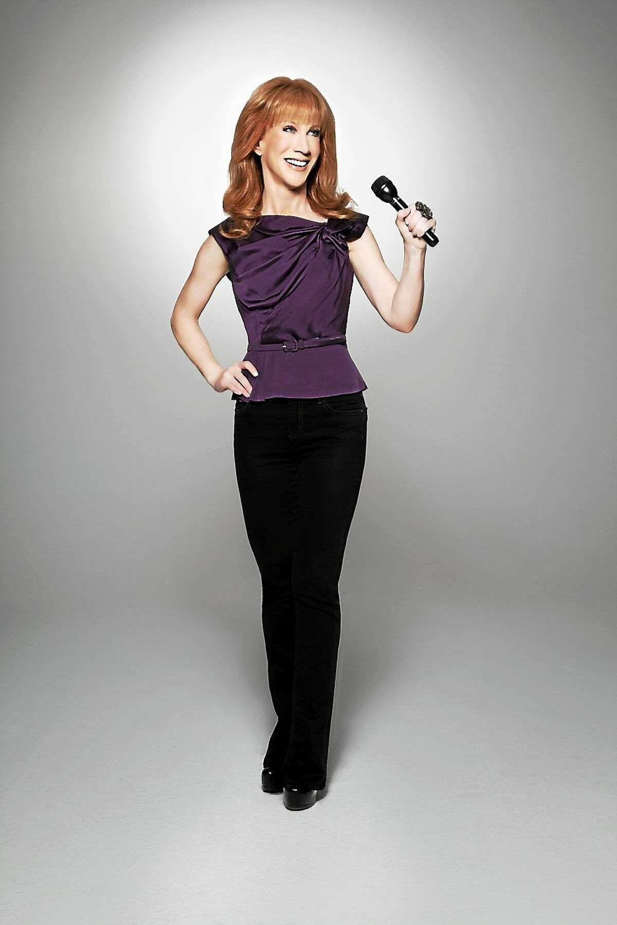 Contributed photo Comedian Kathy Griffin will perform at the Palace Theater in Waterbury in March.