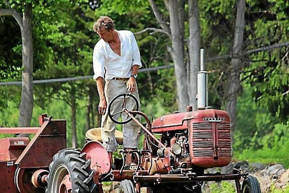 Kingsley Goddard turned this gentleman's farm into a working farm in the late 1980s. Photo: Photos By Kelly Quinlan Goddard   / 2014