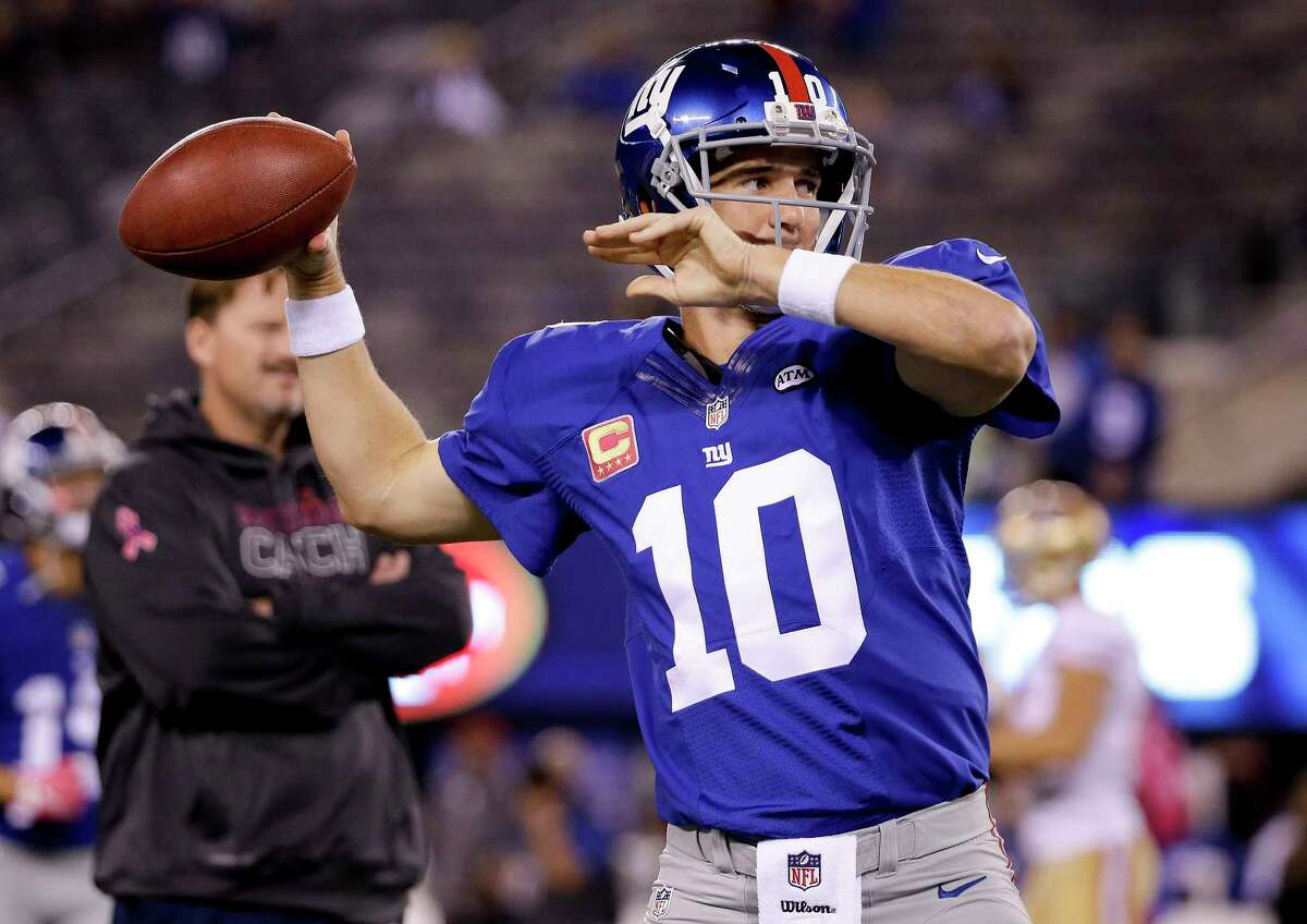 Giants quarterback Eli Manning's 13 losses to Philadelphia are his most against any opponent.