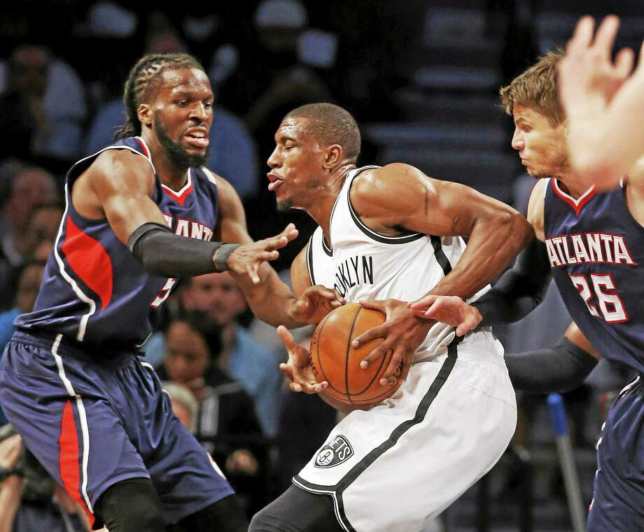Brooklyn Nets forward Thaddeus Young opted out of his contract on Monday. Photo: Kathy Willens — The Associated Press  / AP