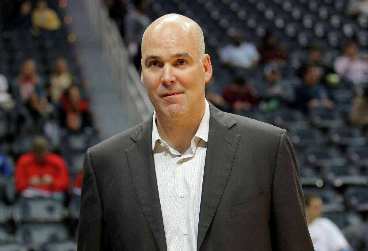 The Atlanta Hawks announced Monday that GM Danny Ferry has stepped down as general manager of the team, ending an indefinite leave of absence that began in August following racially derogatory comments Ferry made.