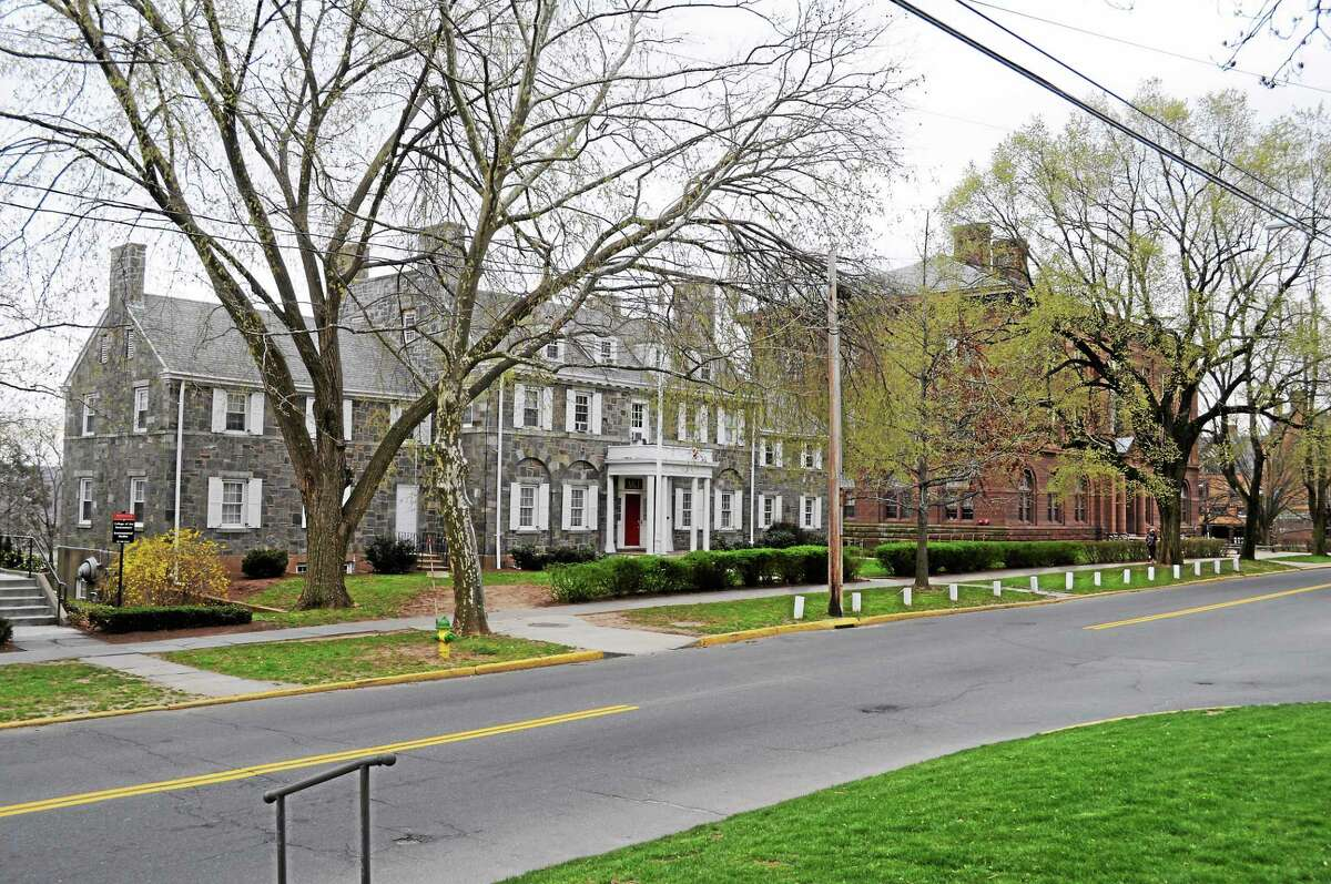 Members and alumni of the Delta Kappa Epsilon fraternity at Wesleyan University have filed a discrimination suit against the liberal-arts college in Middletown.