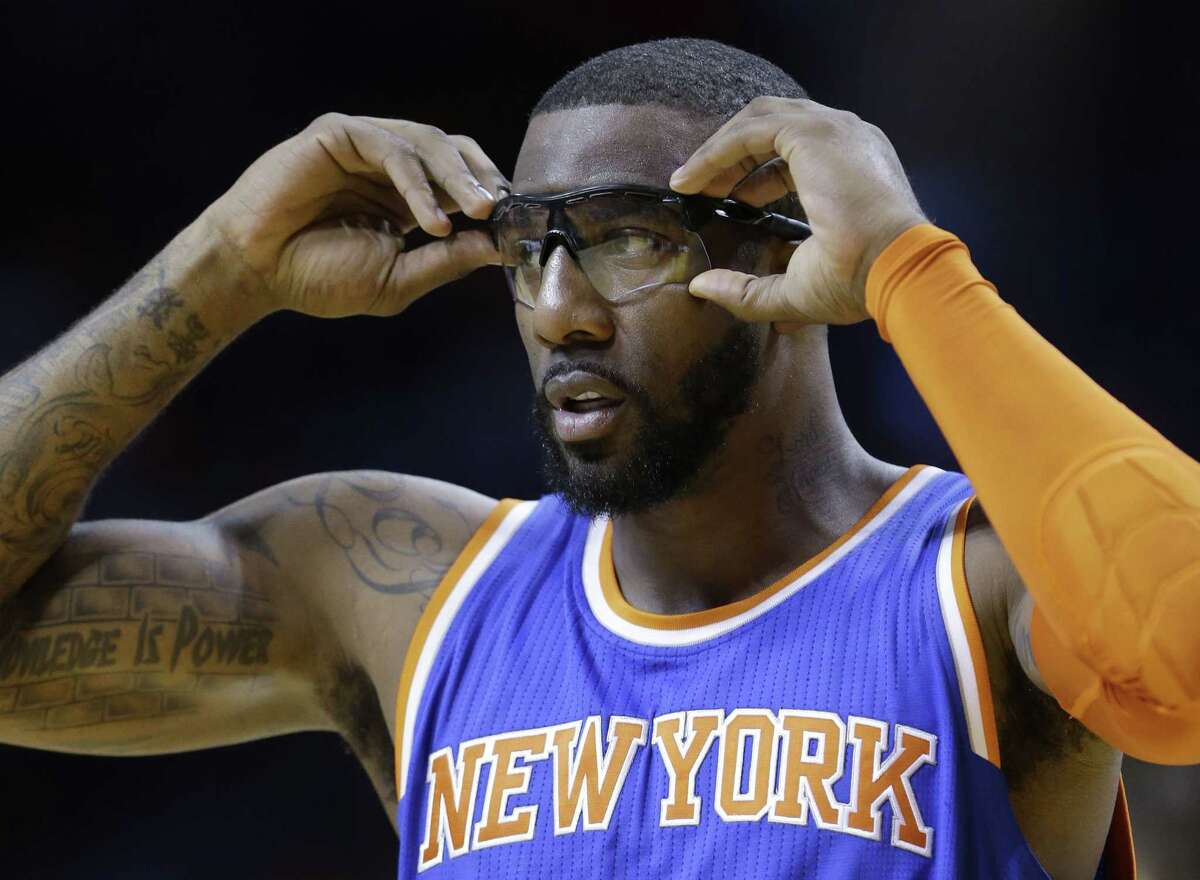 The Dallas Mavericks have added Amare Stoudemire after the last-place New York Knicks let him out of his contract.