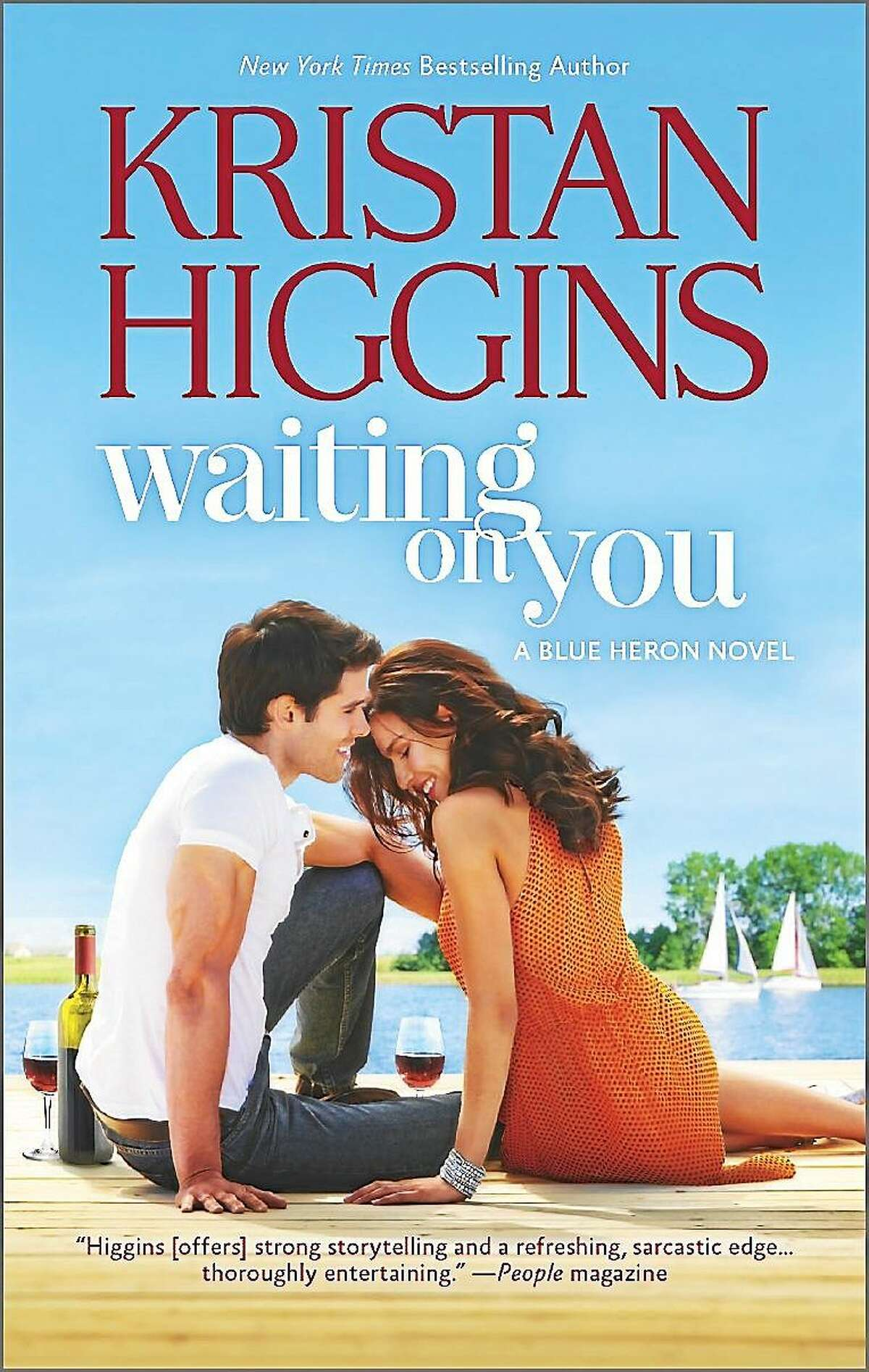 """Durham's Kristan Higgins is author of """"Waiting for You"""" and a new book, """"In Your Dreams."""""""