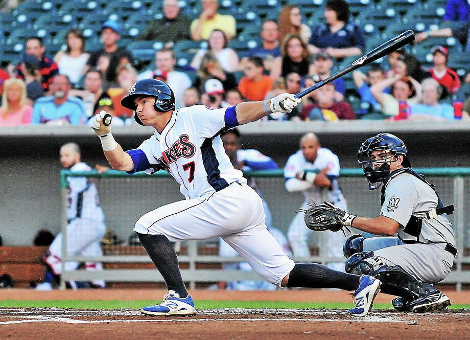 UConn product John Andreoli is currently on the disabled list with the Double-A Tennessee Smokies. Photo: Roger C. Hoover — Tennessee Smokies