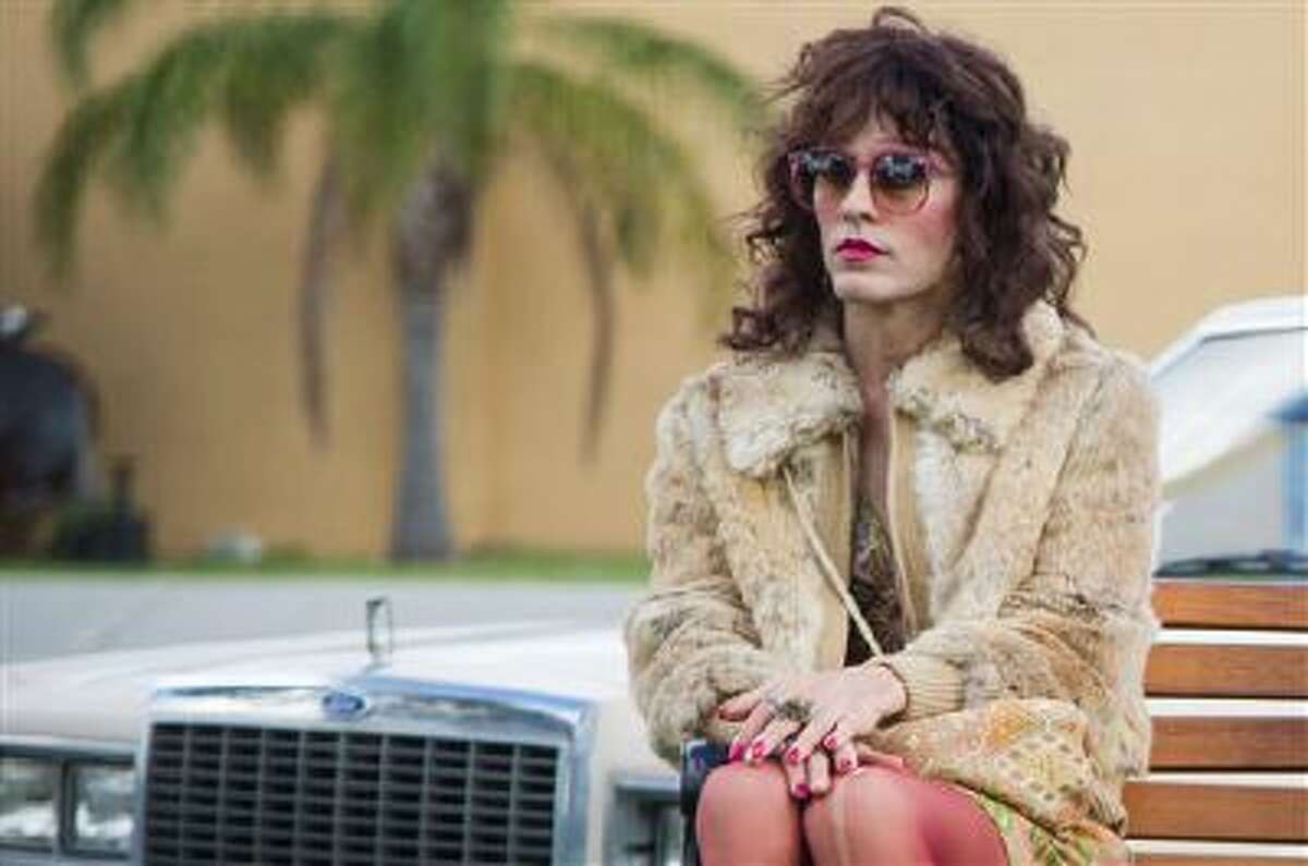 This image released by Focus Features shows Jared Leto as Rayon in a scene from