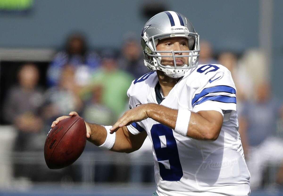 The Giants face Tony Romo and the red-hot Cowboys on Sunday in Arlington, Texas.