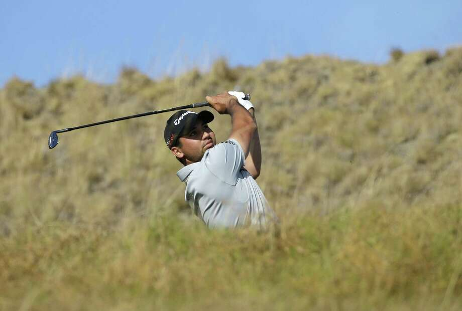 Jason Day watches his tee shot on the 17th hole during the third round of the U.S. Open on Saturday. Photo: Ted S. Warren — The Associated Press  / AP