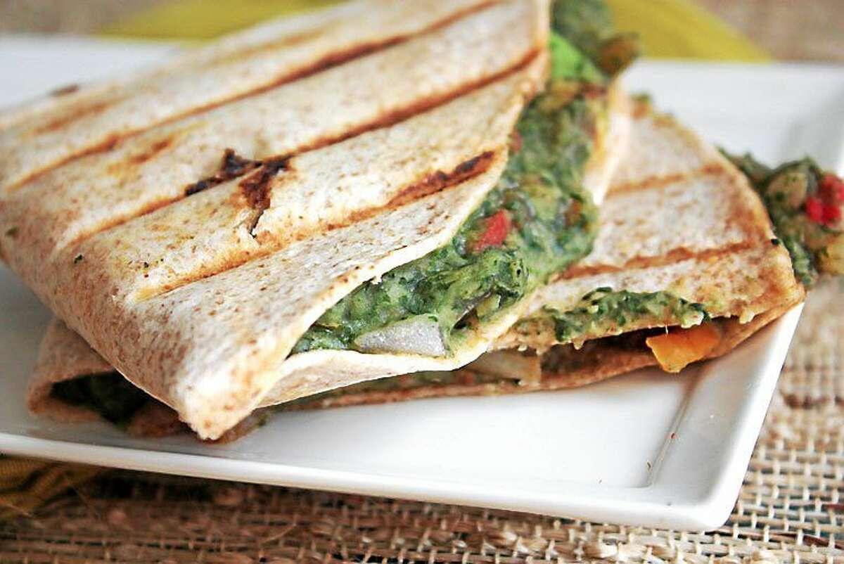 I.O.N. Restaurant at 606 Main Street in Middletown offers this Vegan Quesadillas recipe.