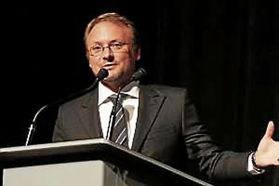 """Director/writer Rian Johnson is seen at the premiere of his film """"Looper"""" at the 2012 Toronto International Film Festival. Johnson has been tapped to direct the eighth installment of the """"Star Wars"""" franchise, it was announced Friday. Photo: (Eric Charbonneau — The Associated Press) / ap"""