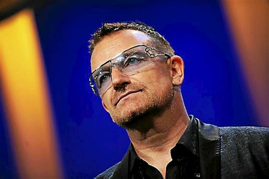 U2's Bono attends the 2009 Clinton Global Initiative Annual Meeting in New York. Photo: Associated Press FILE PHOTO  / AP2009