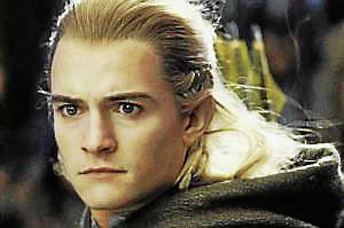 "Orlando Bloom plays Legolas in""The Lord of the Rings: The Return of the King."""