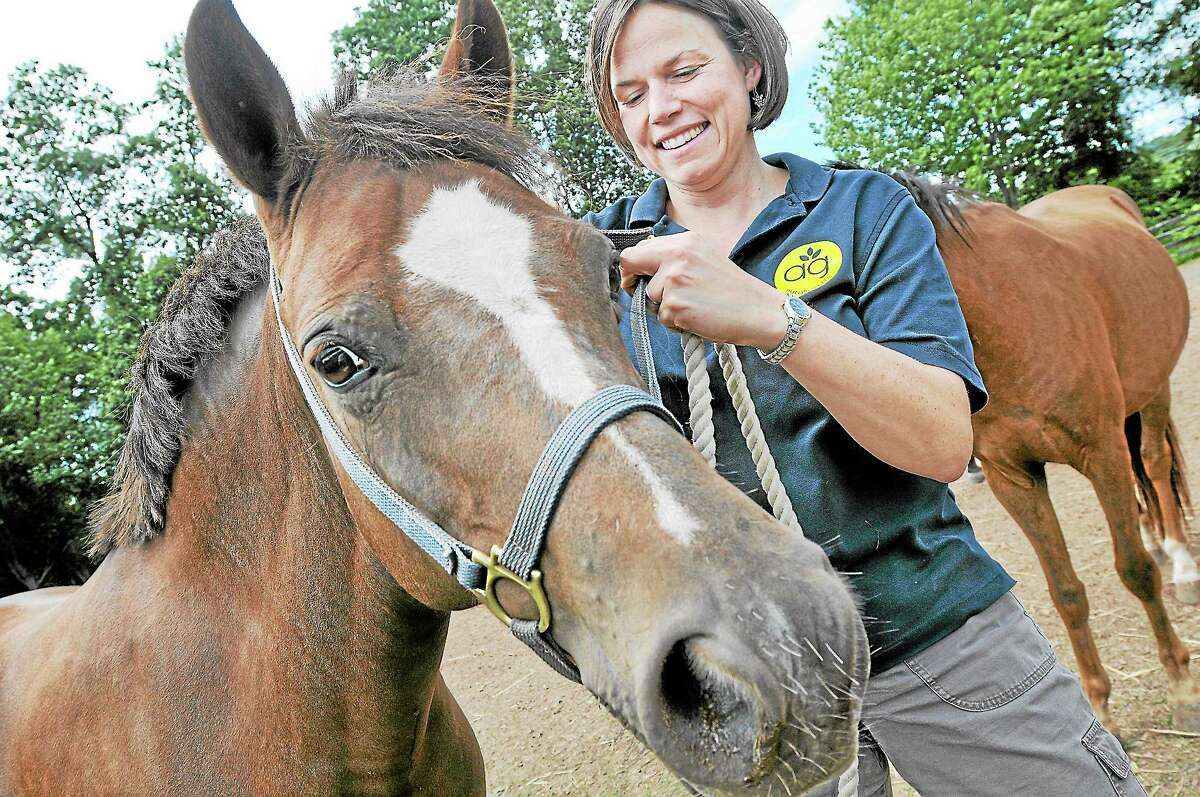 Amanda Thomson is an animal science teacher at Middletown High School.