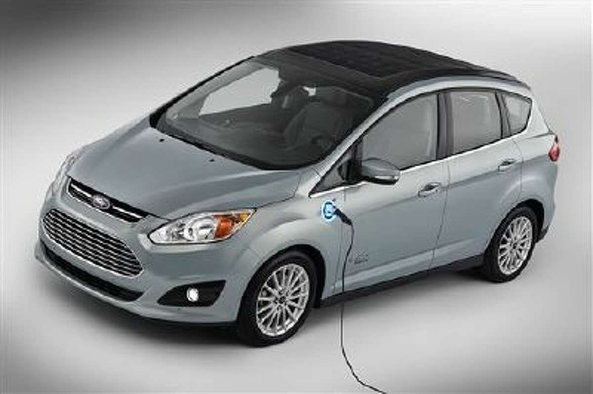 This undated image provided by Ford shows the C-MAX Solar Energi Concept car.