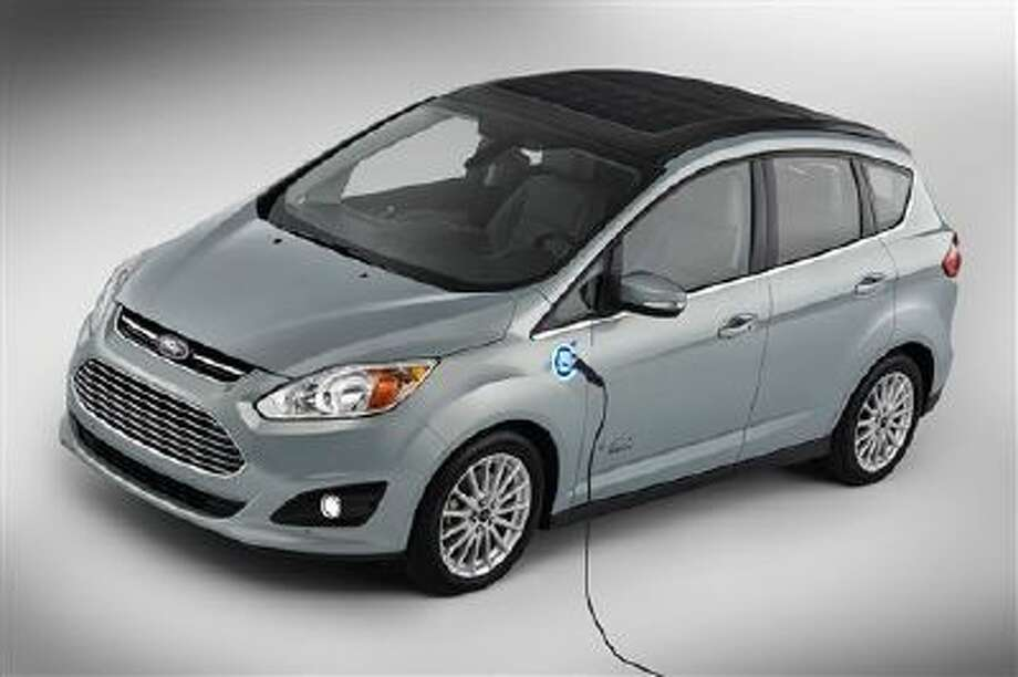 This undated image provided by Ford shows the C-MAX Solar Energi Concept car. Photo: AP / Ford