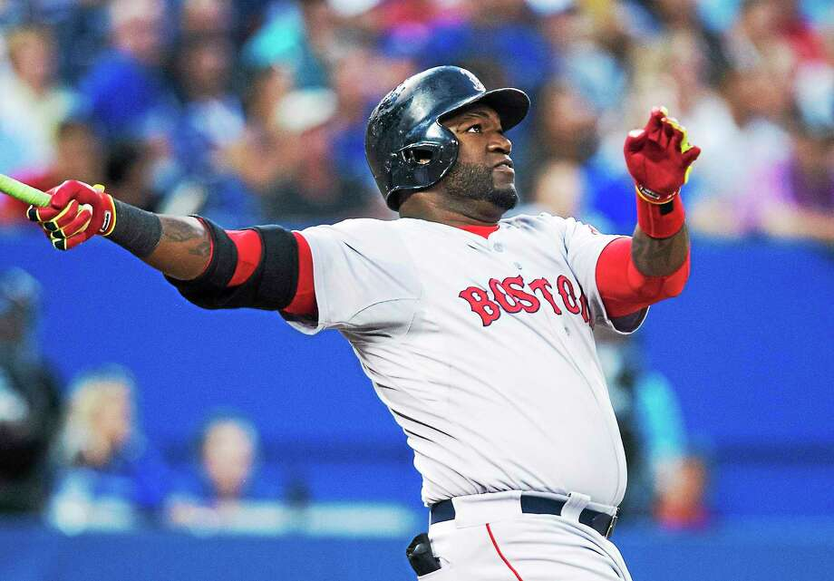 Boston Red Sox designated hitter David Ortiz will be an analyst for Fox during two games of the World Series. Photo: Darren Calabrese — The Canadian Press File Photo  / AP2014