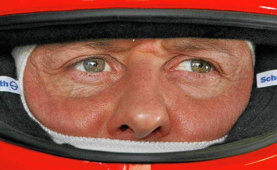 Michael Schumacher's condition was stable overnight, but the brain injury he suffered during a skiing accident in the French Alps is still critical, his manager said Wednesday. Photo: Ben Curtis — The Associated Press  / AP