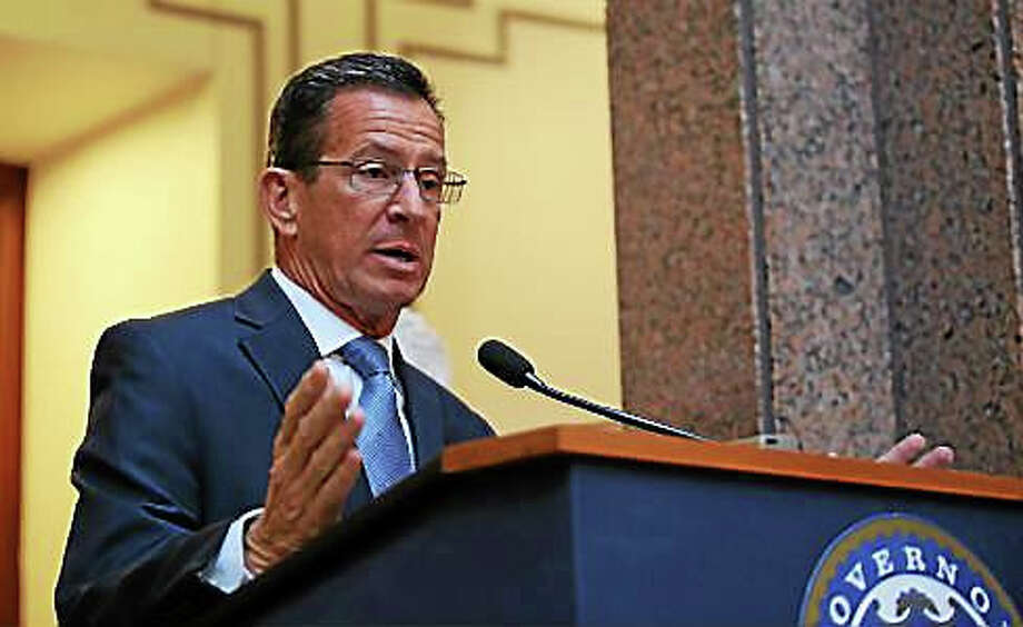 Gov. Dannel Malloy -- Christine Stuart/CTNewsJunkie file photo Photo: Journal Register Co.