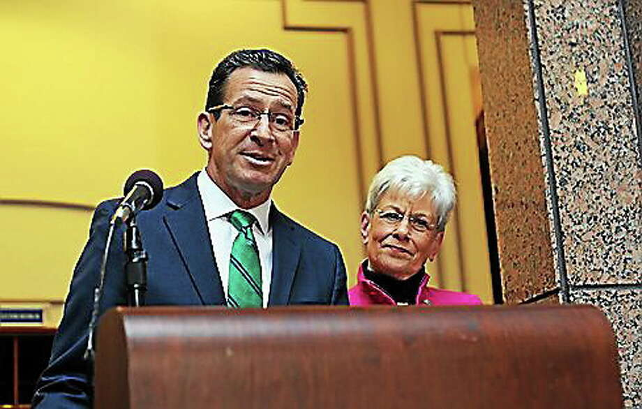 Malloy and Wyman Photo: File Photo Courtesy Of CT News Junkie