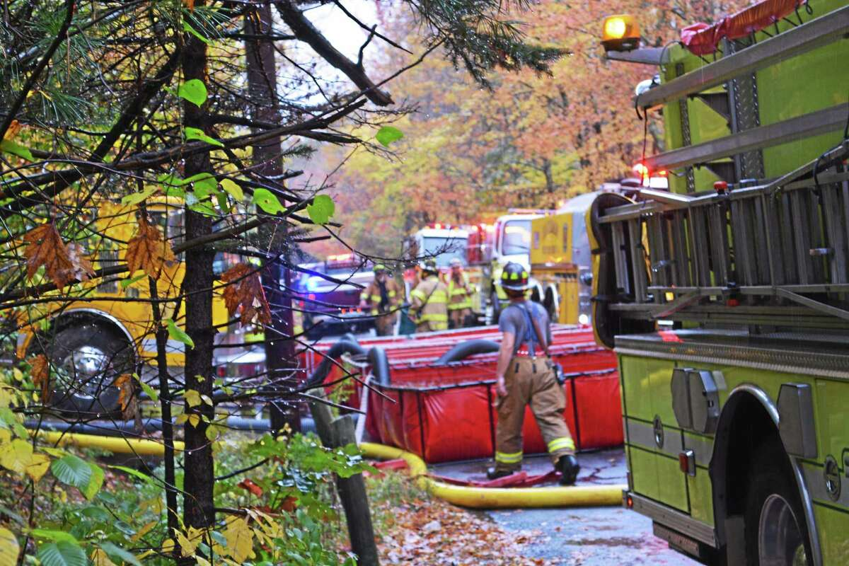Middletown's South Fire, Haddam Neck, Durham, East Haddam, Killingworth, Deep River fire companies provided mutual aid.
