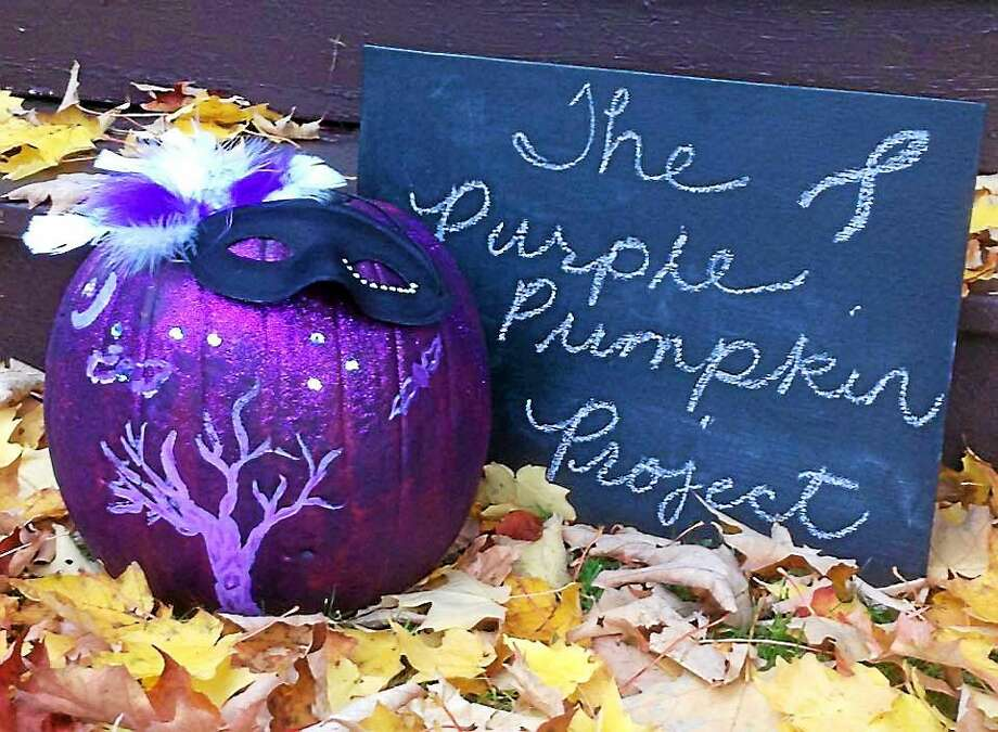Ron Lamontagne of Berlin started the Purple Pumpkin Project Facebook page on Sept. 2, 2012. Within two days, the page had likes in all 50 states; it reached more than 500 likes in the first three days. Ten days later, the page surpassed 1,000 likes and photos of many people's purple pumpkins started pouring in. Photo: Courtesy Epilepsy Foundation