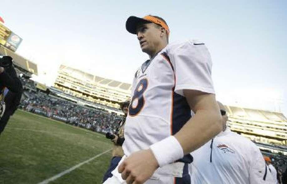 Denver Broncos quarterback Peyton Manning will keep his touchdown passing record.