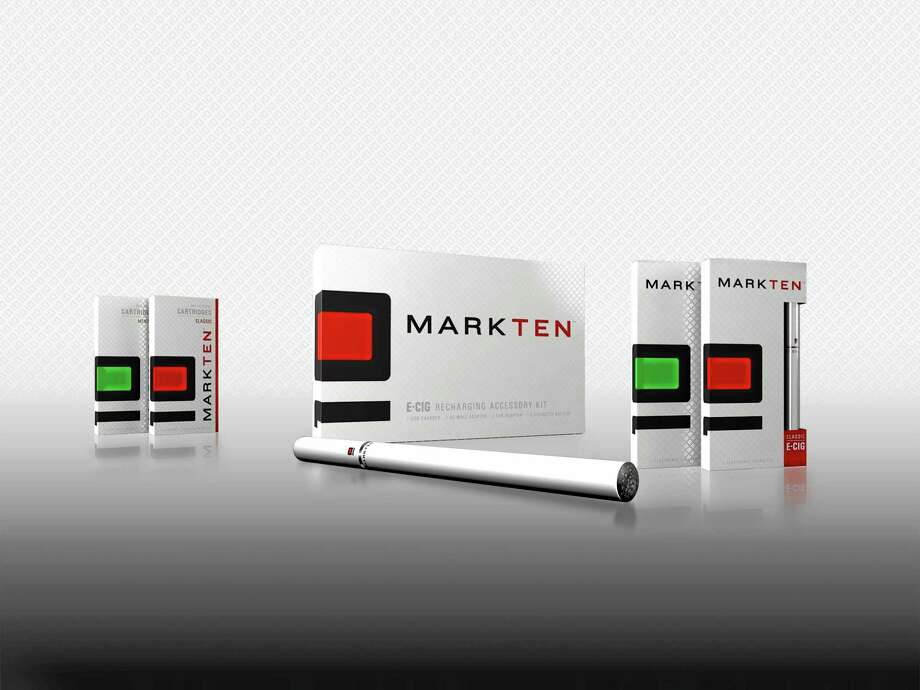 This product image provided by Altria Group Inc., shows the company's first electronic cigarette under the MarkTen brand. Altria Group Inc. and Philip Morris International Inc. said Friday, Dec. 20, 2013 that they've entered into agreements related to marketing alternatives to traditional cigarettes. Terms of the deal were not disclosed. (AP Photo/Altria Group Inc., File) Photo: AP / Altria Group Inc.