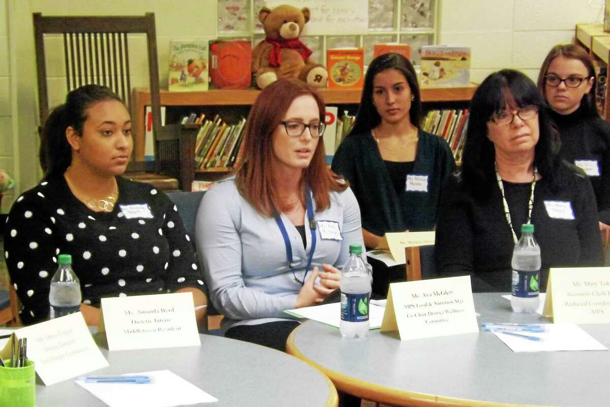 Ava McGlew, food & nutrition manager at Middletown Public Schools, and members of the Bielefield Wellness Committee talk about the importance of healthy school lunches and the effects of food insecurity.