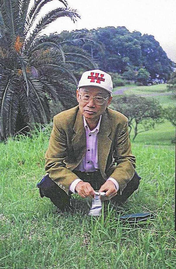 Satoshi Omura, Wesleyan University's honorary Max Tishler Professor of Chemistry, received a Nobel Prize on Oct. 5. Photo: Courtesy Wesleyan University