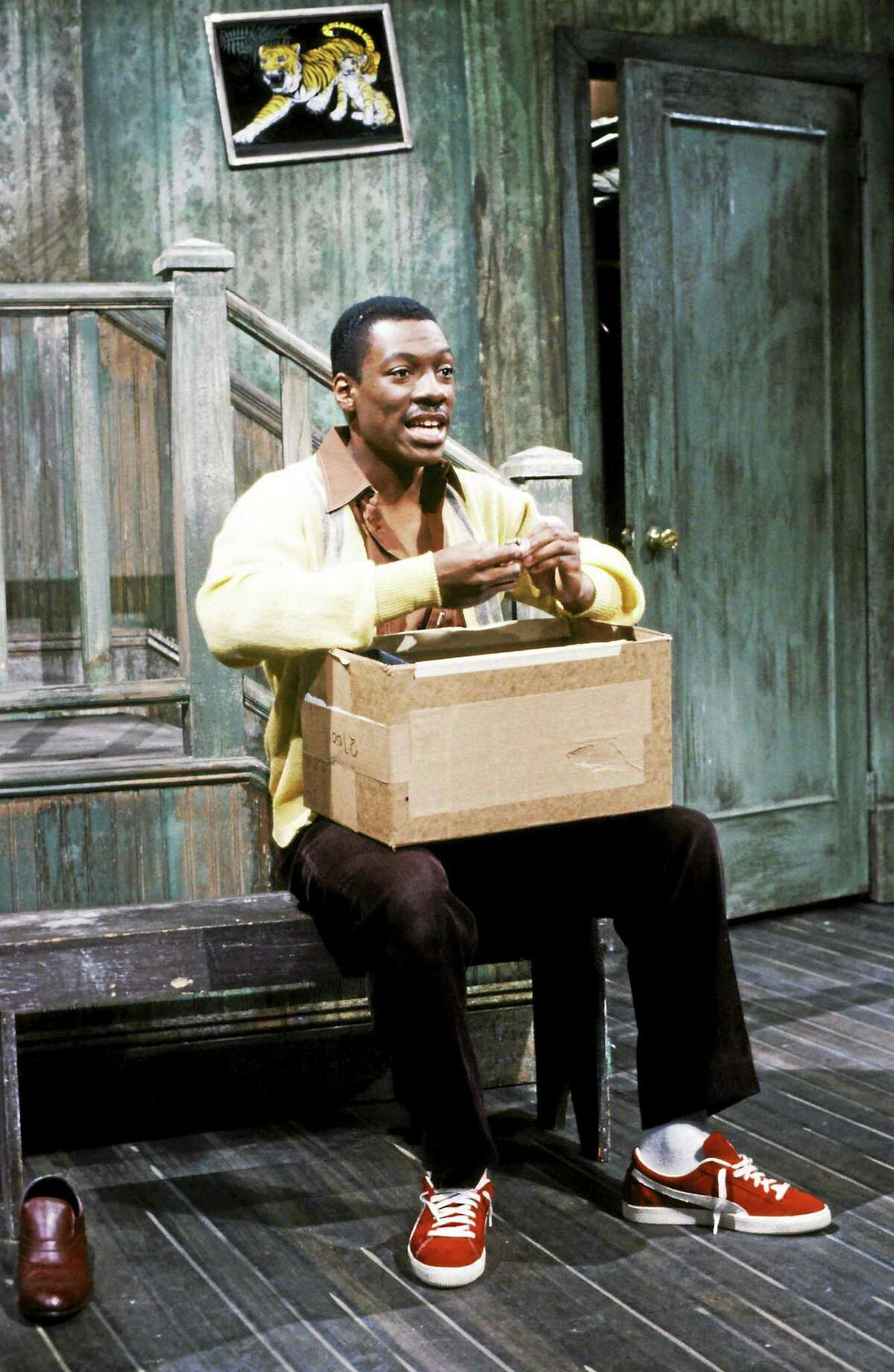 """Eddie Murphy, who will be back for the 40th anniversary show, here as Mr. Robinson during the """"Mister Robinson's Neighborhood"""" skit on """"Saturday Night Live."""""""