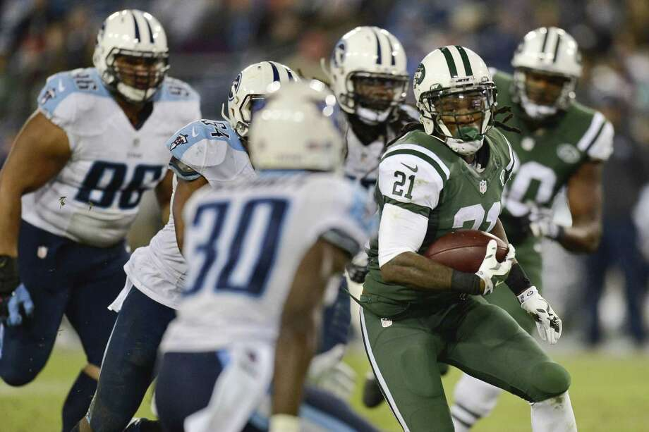 The New York Jets declined their option on running back Chris Johnson. Photo: Mark Zaleski — The Associated Press File Photo  / FR170793 AP