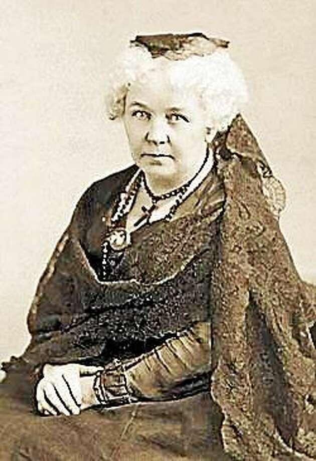 Elizabeth Cady Stanton Photo: Journal Register Co.