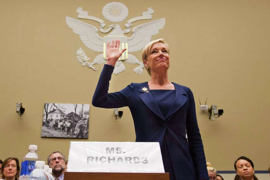 """In this Tuesday, Sept. 29, 2015, photo, Planned Parenthood Federation of America President Cecile Richards is sworn in before testifying at a House Committee on Oversight and Government Reform Hearing on """"Planned Parenthood's Taxpayer Funding,"""" in Washington. Responding to a furor over undercover videos, Planned Parenthood said Tuesday, Oct. 13, 2015, it will maintain programs at some of its clinics that make fetal tissue available for research, but will no longer accept any sort of payment to cover the costs of those programs. Photo: AP Photo/Jacquelyn Martin   / AP"""
