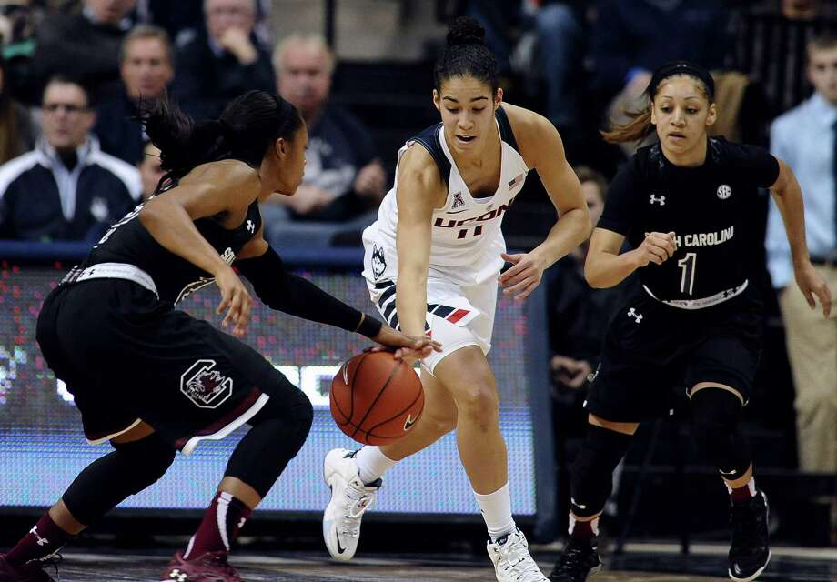 Kia Nurse and UConn will take on Tulane on Saturday at Gampel Pavilion. Photo: Jessica Hill — The Associated Press  / FR125654 AP