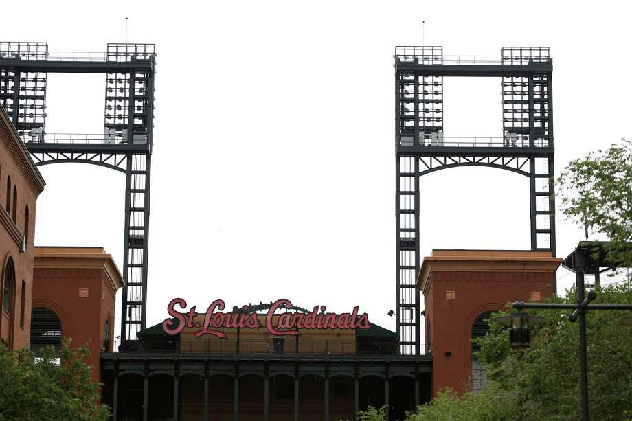 With the St. Louis Cardinals out of town on a road trip, Busch Stadium sits quiet Wednesday. Photo: Jeff Roberson — The Associated Press  / AP